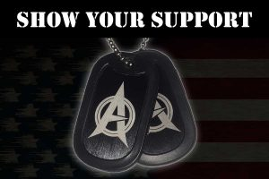 ARMY OF JUSTICE Support Tags